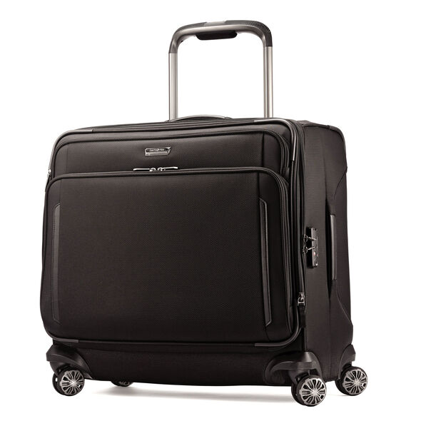 Samsonite Silhouette XV Medium Glider in the color Black.
