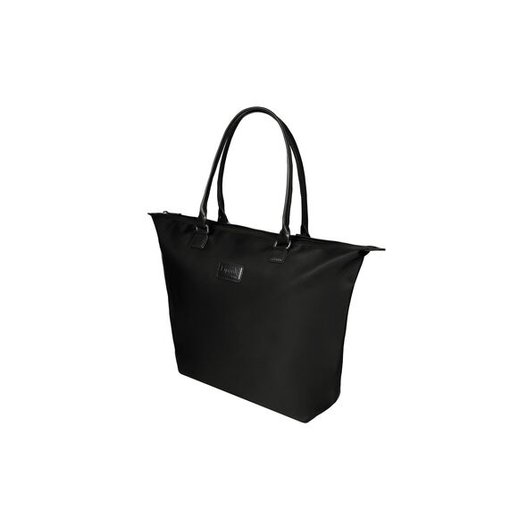 Lipault Lady Plume Tote Bag M in the color Black.