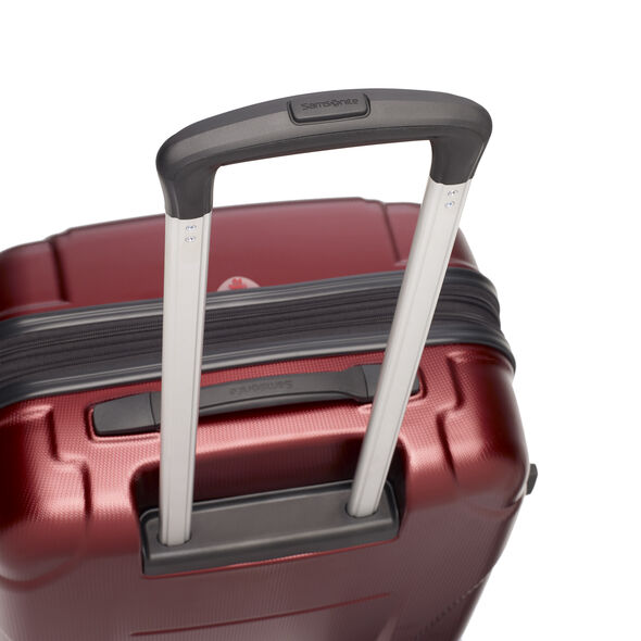 Samsonite Winfield NXT Spinner Large in the color Dark Red.