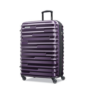 Samsonite Ziplite 4 Spinner Large Exp in the color Purple.