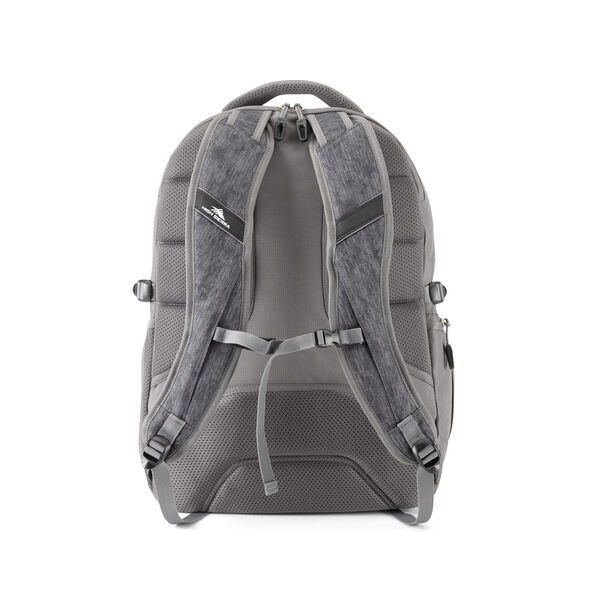 High Sierra Jarvis Backpack in the color Fabric Tex/Slate.
