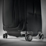 "Samsonite Silhouette 16 Expandable 30""  Spinner in the color Obsidian Black."