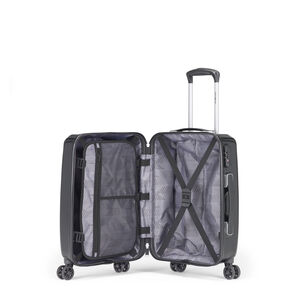 Samsonite Pursuit DLX Plus Spinner 3 Piece Set (CCO, Med, Lrg) in the color Black.
