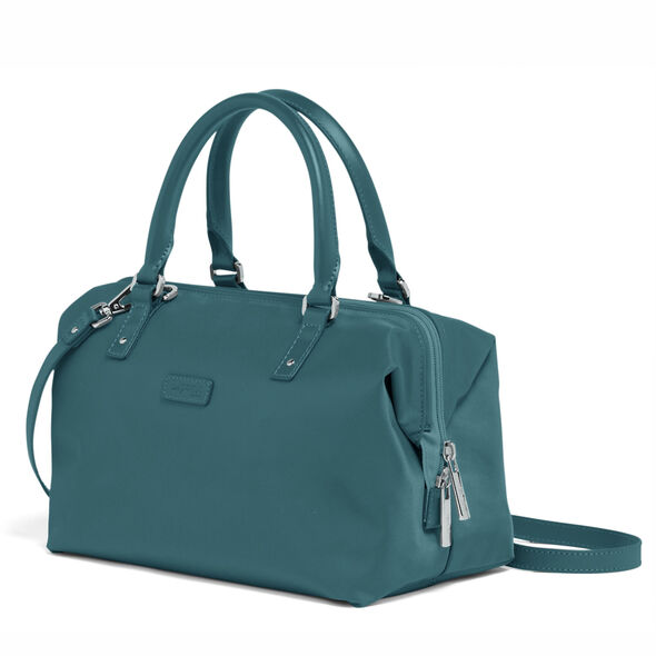 Lipault Lady Plume FL Bowling Bag S in the color Duck Blue.