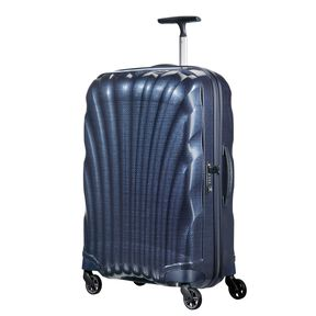 Samsonite Cosmolite Spinner Carry-On in the color Midnight Blue.