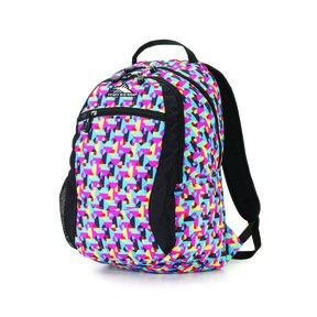 High Sierra Curve Backpack in the color Heart Throb/Black.