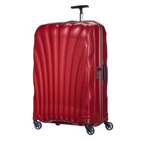 "Samsonite Cosmolite Spinner Large (28"") in the color Red."