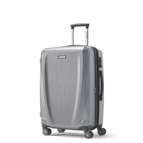 Samsonite Pursuit DLX Spinner Medium in the color Silver.