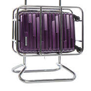 Samsonite Ziplite 4 Spinner Carry-On in the color Purple.