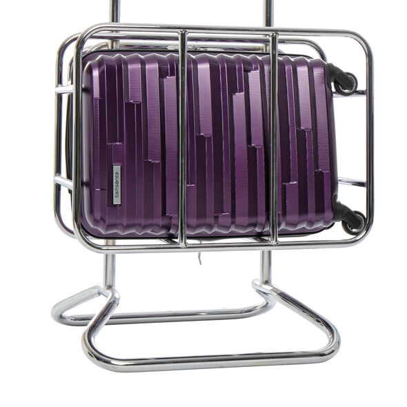 Samsonite Ziplite 4 3 Piece Set (CO/Med/Lrg) in the color Purple.