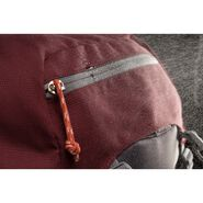 High Sierra Pathway 70L Pack in the color Cranberry/Slate/Redrock.