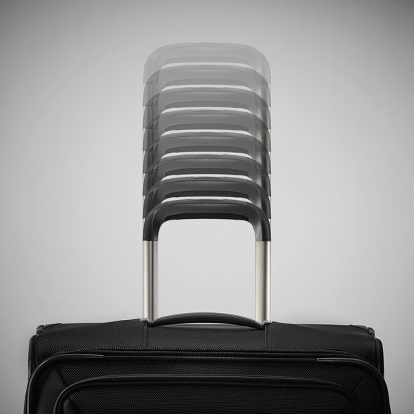 Samsonite Silhouette 16 Spinner Underseater in the color Obsidian Black.