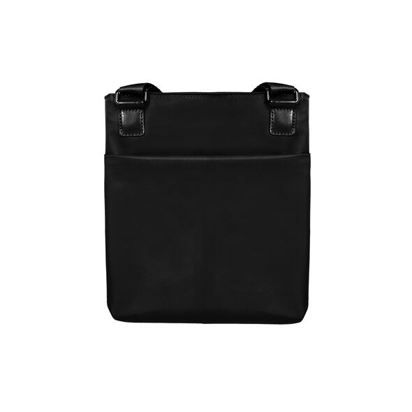 Lipault City Plume Crossover Bag M in the color Black.