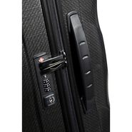 "Samsonite Cosmolite Spinner Large (30"") in the color Black."