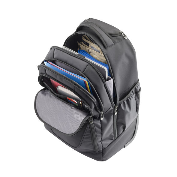 Samsonite MVS Wheeled Business Backpack in the color Black.