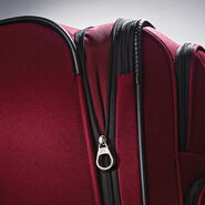 American Tourister Meridian 360 Spinner Large in the color Ruby Red.