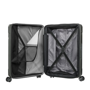 Samsonite Evoa Spinner Carry-On in the color Brushed Black.