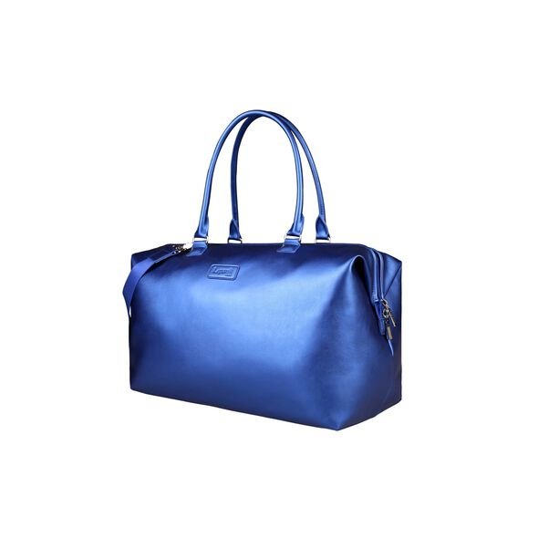 Lipault Miss Plume Weekend Bag M in the color Exotic Blue.