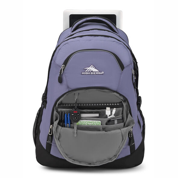 High Sierra Access 2.0 in the color Purple Smoke/Black.