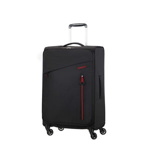 American Tourister Litewing Spinner Medium in the color Volcanic Black.