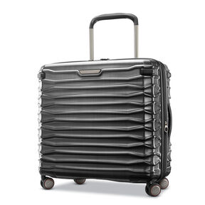 Samsonite Stryde 2 Medium Glider in the color Brushed Graphite.