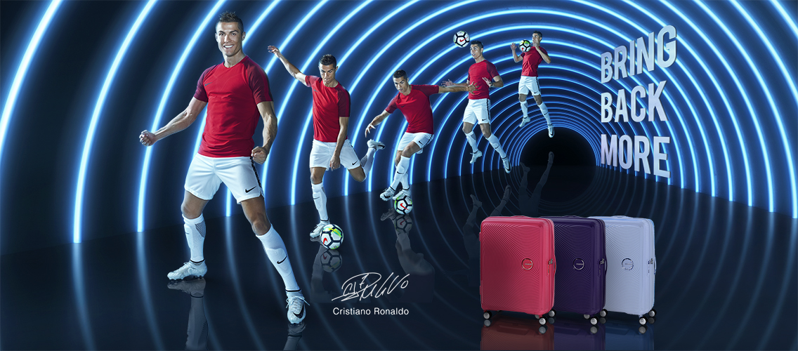 Bring Back More with the Curio Collection - Cristiano Ronaldo's suitcase of choice!