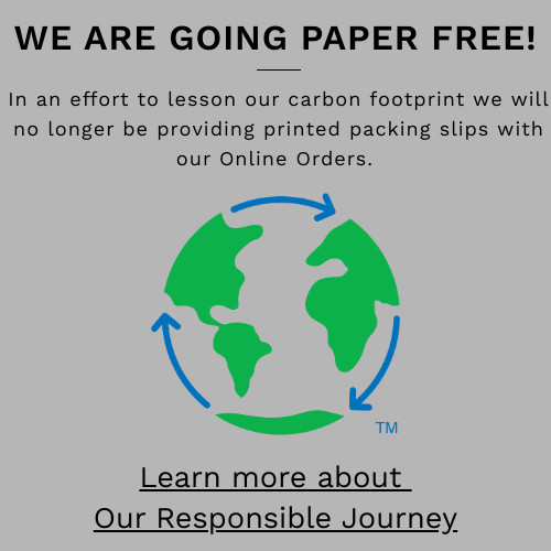 Samsonite Canada is going paper free!  This means no more printed packing slips!  Learn more about our responsible journey!