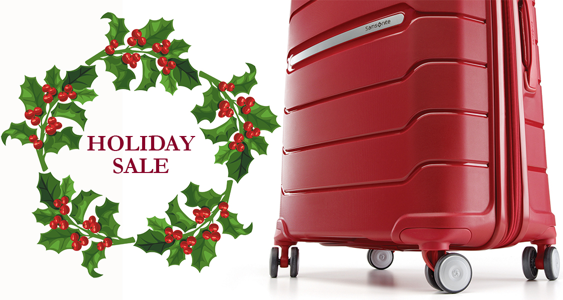 Holiday Luggage Sale!